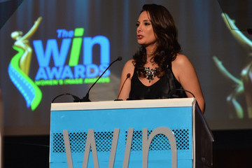 Alex Meneses Inside the WIN Awards Ceremony