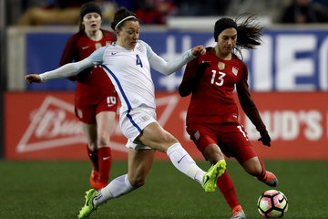 Alex Morgan 2017 SheBelieves Cup - United States v England