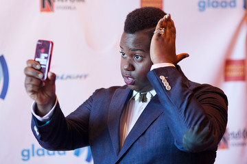 Alex Newell 25th Annual GLAAD Media Awards - Dinner and Show