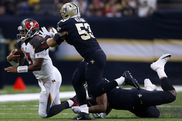 Alex Okafor Tampa Bay Buccaneers v New Orleans Saints