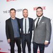 Alex Orlovsky Premiere of Netflix's 'The Discovery' - Arrivals
