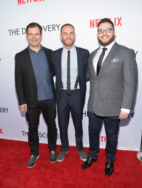 Premiere of Netflix's 'The Discovery' - Arrivals []