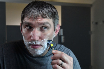 Alex Ovechkin World Champion Hockey Star Alex Ovechkin Shaves His 'Playoff Beard' With Gillette Fusion ProShield Razor