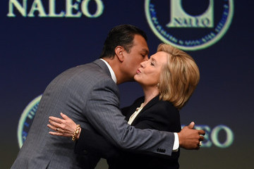 Alex Padilla Hillary Clinton Addresses Nat'l Ass'n of Latino Elected and Appointed Officials