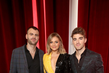 Alex Pall Kelsea Ballerini 2018 American Music Awards VIP Lounge Presented By Aviation American Gin