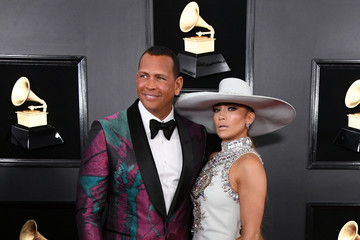 Alex Rodriguez 61st Annual Grammy Awards - Arrivals