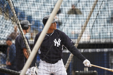 Alex Rodriguez New York Yankees Workout