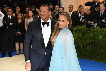 Alex Rodriguez 'Rei Kawakubo/Comme des Garcons: Art of the In-Between' Costume Institute Gala