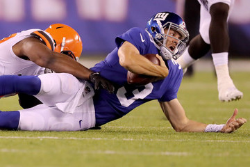 Alex Tanney Cleveland Browns vs. New York Giants