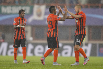 Alex Teixeira SK Rapid Vienna v FC Shakhtar Donetsk - UEFA Champions League: Qualifying Round Play Off First Leg