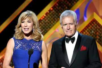 Alex Trebek The 42nd Annual Daytime Emmy Awards - Show