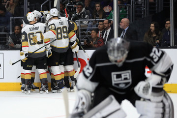 Alex Tuch Vegas Golden Knights v Los Angeles Kings - Game Three
