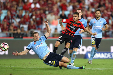 Alex Wilkinson A-League Rd 20 - Western Sydney v Sydney