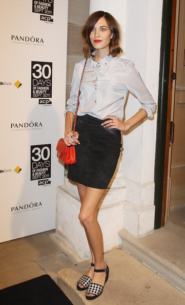 Alexa Chung Pictures 30 Days Of Fashion And Beauty Zimbio