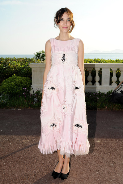 Alexa Chung Alexa Chung attends the Chanel Collection Croisiere Show 2011-12 at the Hotel du Cap on May 9, 2011 in Cap d'Antibes, France.