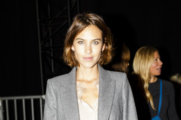 Alexa Chung Front Row & Arrivals: Day 4 - LFW SS16