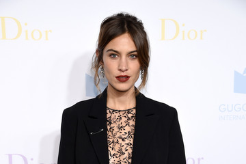 Alexa Chung 2016 Guggenheim International Pre-Party Made Possible by Dior
