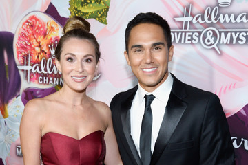 Alexa PenaVega Hallmark Channel and Hallmark Movies and Mysteries Winter 2018 TCA Press Tour - Red Carpet