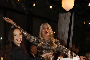 Alexa Ray Joel Christie Brinkley's 65th Birthday And The Launch Of The New Ultherapy Campaign - #MilestonesOfMe
