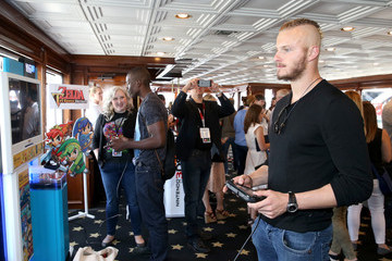 Alexander Ludwig The Nintendo Lounge on the TV Guide Magazine Yacht - Day 2 - Comic-Con International 2015