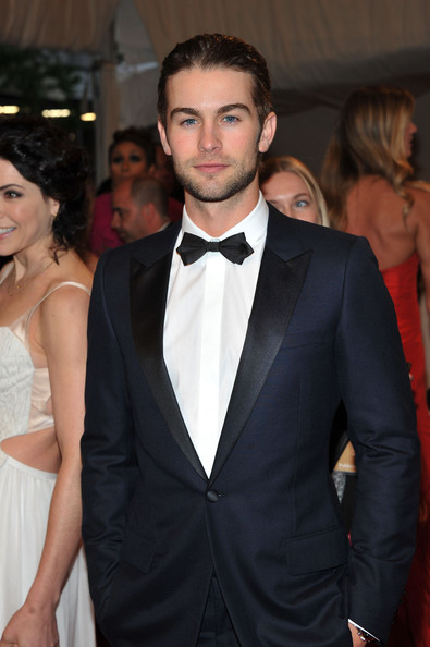 "Actor Chace Crawford attends the ""Alexander McQueen: Savage Beauty"" Costume Institute Gala at The Metropolitan Museum of Art on May 2, 2011 in New York City."