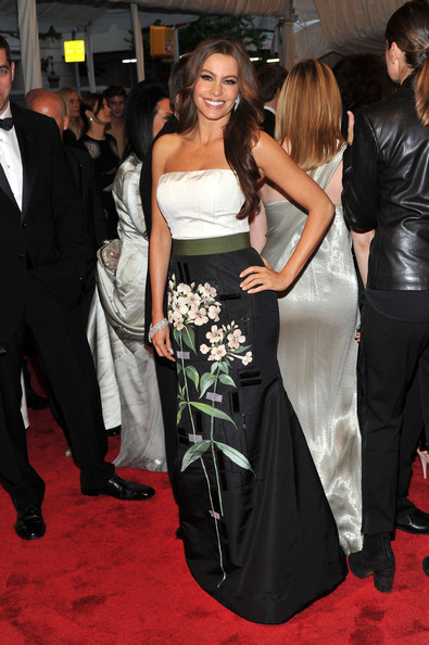 "Actress Sofia Vergara attends the ""Alexander McQueen: Savage Beauty"" Costume Institute Gala at The Metropolitan Museum of Art on May 2, 2011 in New York City."