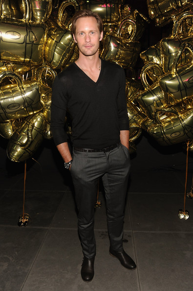 Alexander Skarsgard - Mulberry Celebrates Its 40th Anniversary