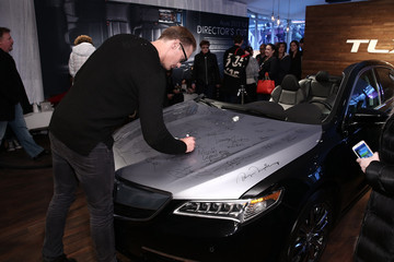 Alexander Skarsgard Acura Studio At Sundance - Day 3 - 2015 Park City