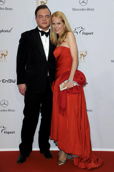 Bambi Award 2011 [formal wear,carpet,suit,clothing,red,tuxedo,dress,red carpet,fashion,event,nadja,alexander,schaumburg-lippe,bambi award,germany,wiesbaden,rhein-main-hallen,red carpet,ceremony]