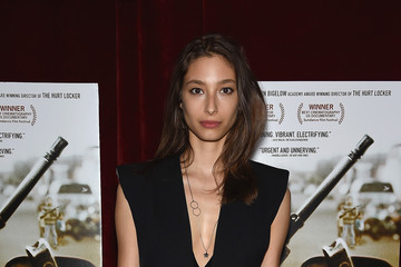 Alexandra Agoston Seth Meyers With the Orchard and the Cinema Society Host a Screening of 'Cartel Land' - Arrivals