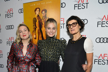 "Alexandra Byrne AFI FEST 2018 Presented By Audi - Closing Night World Premiere Gala Screening Of ""Mary Queen Of Scots"""