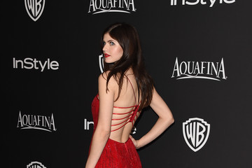 Alexandra Daddario InStyle And Warner Bros. Golden Globes Party — Part 2