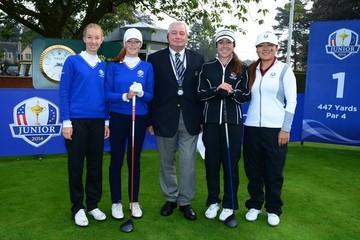Alexandra Forsterling The Junior Ryder Cup: Day 1
