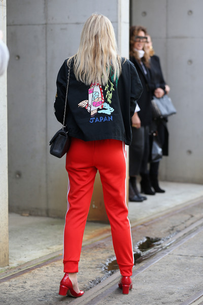 Alexandra spencer pictures street style mercedes benz for Mercedes benz tracksuit