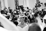[Editor's Note: Image was converted to black and white] Celine Dion attends the Alexandre Vauthier Haute Couture Fall/Winter 2019 2020 show as part of Paris Fashion Week on July 02, 2019 in Paris, France.