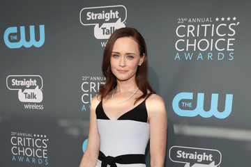 Alexis Bledel The 23rd Annual Critics' Choice Awards - Red Carpet