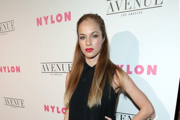 Alexis Knapp NYLON Young Hollywood Party At AVENUE Los Angeles