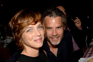 """Alexis Olyphant """"Yesssss!"""" 2013 MOCA Gala, Celebrating The Opening Of The Exhibition Urs Fischer - Dinner"""