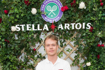 Alfie Allen A Day At The Championships, Wimbledon With Stella Artois
