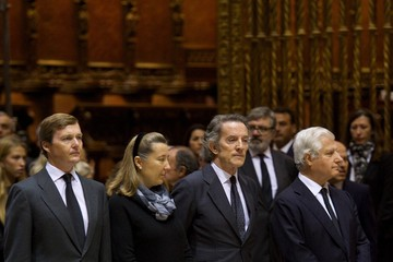 Alfonso Diez Funeral Service Held for the Duchess of Alba