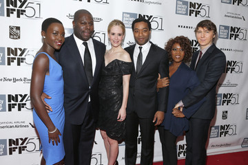 Alfre Woodard Chiwetel Ejiofor Arrivals at the NYFF Premieres