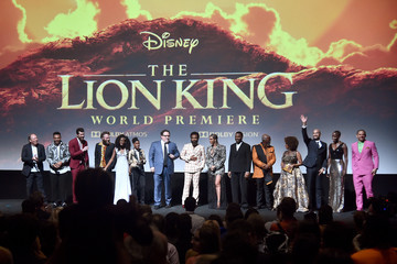 Alfre Woodard Chiwetel Ejiofor The World Premiere Of Disney's 'The Lion King'
