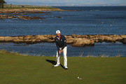 Matt Kuchar of The United States putts on the 12th green during day one of the 2018 Alfred Dunhill Links Championship at Kingsbarns on October 4, 2018 in St Andrews, Scotland.