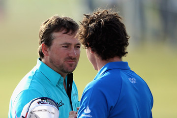 Rory McIlroy Graeme McDowell Alfred Dunhill Links Championship - Day Two