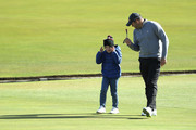 South African cricket player Jacques Kallis during previews prior to the 2018 Alfred Dunhill Links Championship at The Old Course on October 2, 2018 in St Andrews, Scotland.