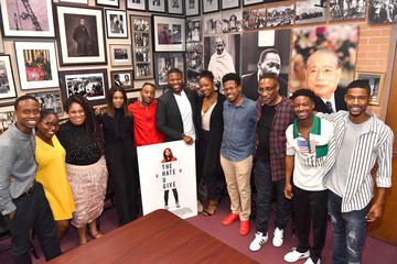 Algee Smith 'The Hate U Give' Cast, Director And Author At Morehouse College's Crown Forum In Atlanta