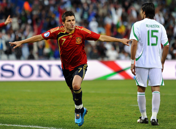 Image result for spain 1-0 iraq 2009