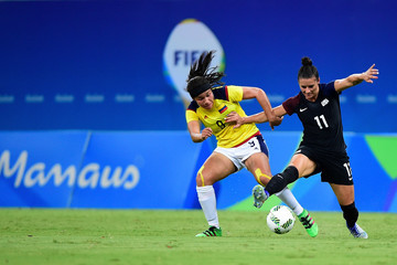 Ali Krieger Colombia v USA: Women's Football - Olympics: Day 4