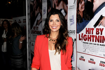 "Ali Landry Premiere Of ""Hit By Lightning"" - Red Carpet"