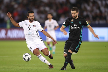 Ali Mabkhout Al Jazira v Real Madrid CF - FIFA Club World Cup UAE 2017